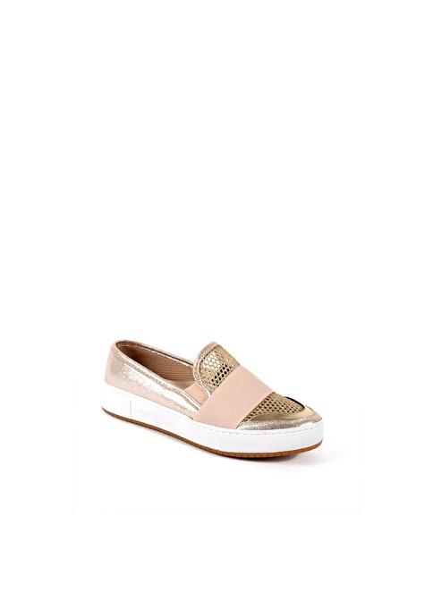 Sapin 35742 Altın Kadın Ayakkabı